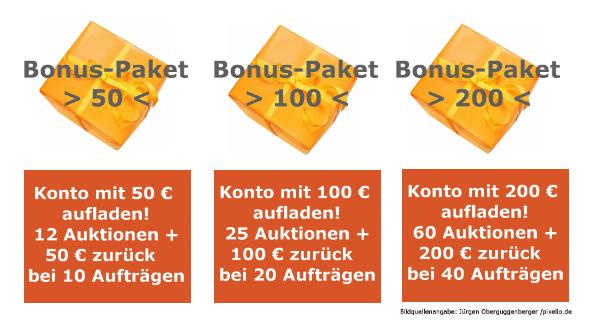BonusPaketeAuftraggeber Bonus Pakete für Auftraggeber